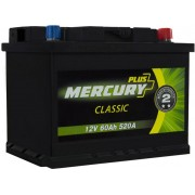 Автомобільний акумулятор Mercury Classic Plus 60А (- / +) (520EN)