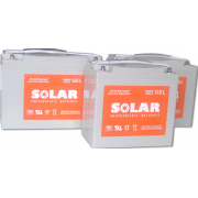 Гелевые аккумуляторы EverExceed серии Solar Gel Range ES33-12G
