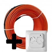 Теплый пол Volterm HR18 двужильный кабель, 140W, 0.75-1 м2(HR18 140)