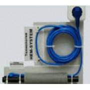Кабель двужильный FS 100Вт/м со встроенным термостатом(ограничителем) 10м