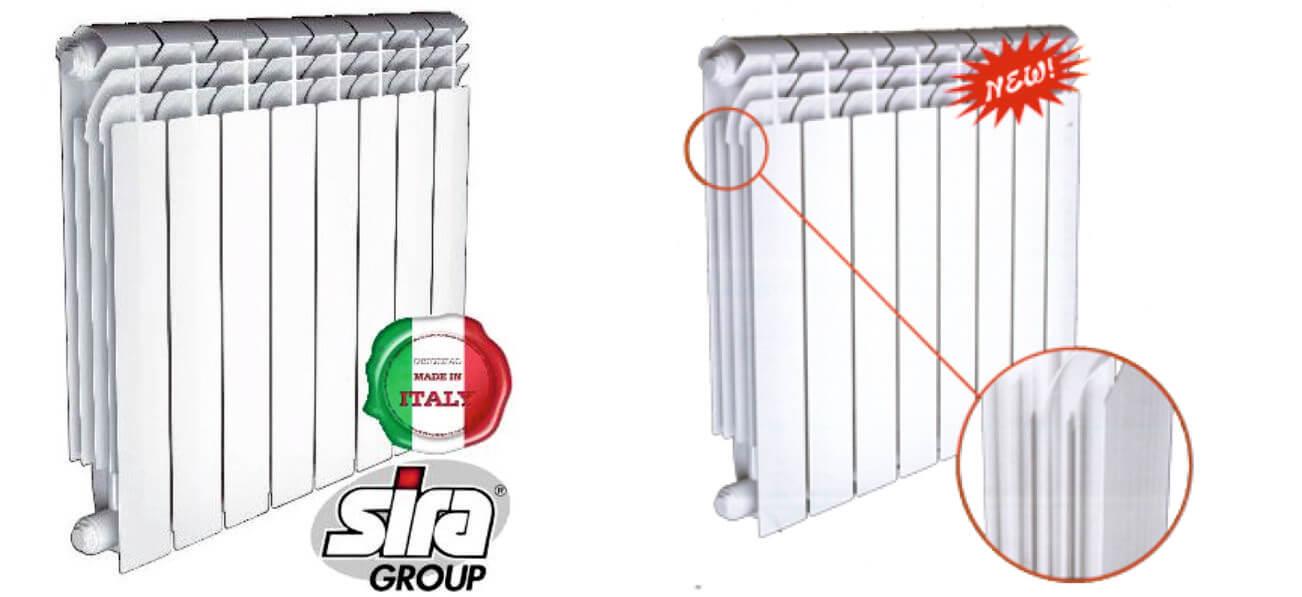 Биметаллический радиатор Sira Concurrent 500